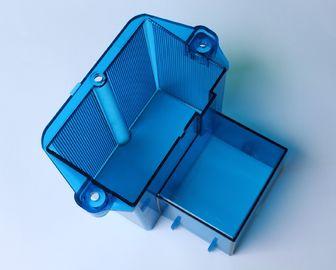 Escoja/plástico de encargo del multicolor que moldea la caja azul 200x300m m