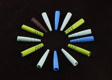 Componentes moldeados plástico óptico de pulido en color del color 7 del arco iris