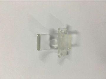 La inyección plástica de la transparencia moldeó las piezas, moldeo por inyección plástico de la precisión